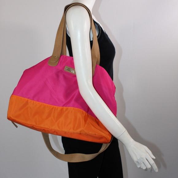 0bfd15139de9 Stoksak - Diaper Bag Color - Pink Orange